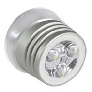 Lumitec Zephyr LED Spreader\/Deck Light - Brushed White Base - White Non-Dimming