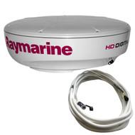 Raymarine RD418HD Hi-Def Digital Radar Dome w\/10M Cable