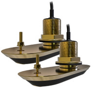 Raymarine RV-220 RealVision 3D™ Bronze Thru-Hull Transducer Pair Pack - 20° - 8M Cable  Y-Cable