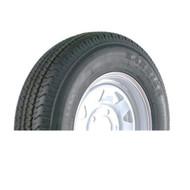 """Kenda Karrier 205/75R15 5-Lug 15"""" Radial Trailer Tire - White Spoke Load C"""