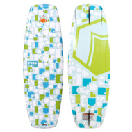Liquid Force Fury 125 Kids Wakeboard W/ Rant 12T-5Y Bindings