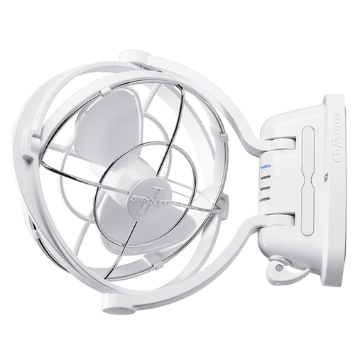 Caframo 7010CAWBX Sirocco II Gimbal Fan White
