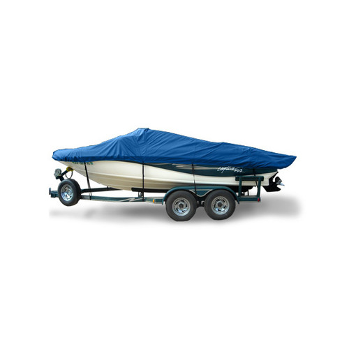 CRESTLINER 1650 PROTILLER PLATNUMEDITION Boat Cover - Hot Shot