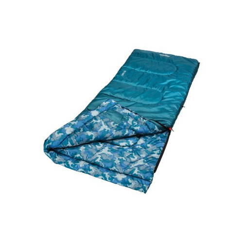 Coleman Youth Rectangle Sleeping Bag - Blue
