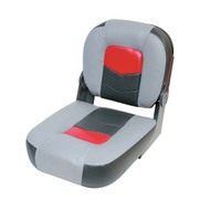 "Wise Pro-Angler 14"" Buddy Seat - Marble Grey/Regal Red/Charcoal"