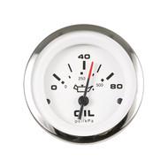 Sierra 65501P Lido Series Oil Pressure Gauge