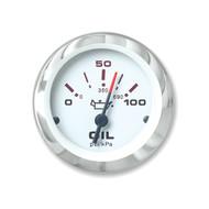 Sierra 65498P Lido Series Oil Pressure Gauge