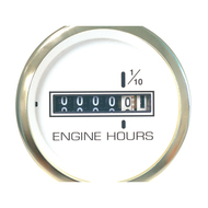 Sierra 62538P White Premier Pro Series Hourmeter