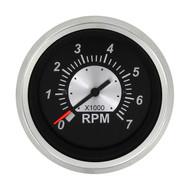 Sierra 67363P Black Sterling Series Tachometer