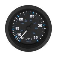 Sierra 68395P Eclipse Series Speedometer