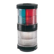 Hella Marine Tri-Color Navigation Light\/Anchor Navigation Lamp- Incandescent - 2nm - Black Housing - 12V