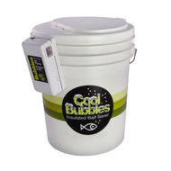 Cool Bubbles 5 Gallon Aerated Bait Container