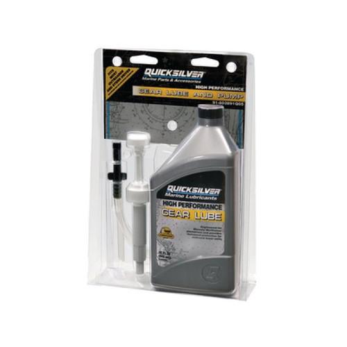 Quicksilver High Performance Gear Lube & Pump Kit