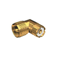 Shakespeare Gold-Plated 90 Degree Connector