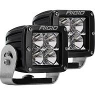 Rigid Industries D-Series PRO - Flood LED - Pair - Black