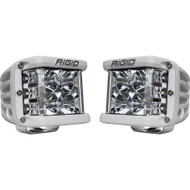 Rigid Industries D-SS PRO Flood LED - Pair - White