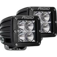 Rigid Industries D-Series PRO Hybrid-Flood LED - Pair - Black