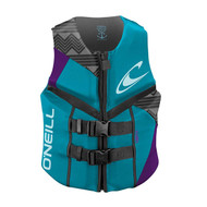 O'Neill Reactor Turquoise Women's Life Jacket