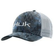 Huk Kryptek Logo Trucker Cap - White