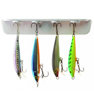 Tackle Titan Magnetic Lure Holder & Tackle Organizer - White