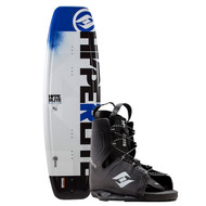 Hyperlite Motive Wakeboard w/ Frequency Boots
