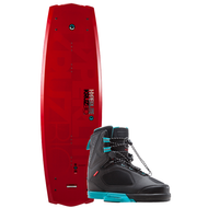 Hyperlite Kruz Bio Wakeboard w/Team X Bindings