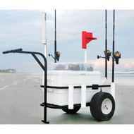Sea Striker Deluxe Pier/Surf/Beach Fishing Cart