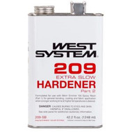 West System 209 Extra Slow Hardener - Pint