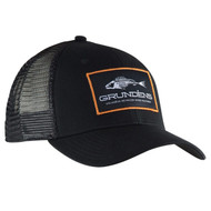 Grunden Gage Trucker Hat - Black