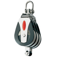 Ronstan Series 40 All Purpose Block - Triple - Becket - Swivel Head