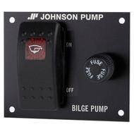 Johnson Pump 2-Way Bilge Pump Switch Control Panel