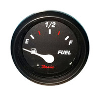 """Faria Professional 2"""" Fuel Level Gauge - Red"""