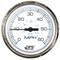 "Faria Chesepeake White SS 4"" Studded Speedometer - 60MPH (GPS)"