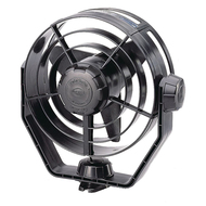 Hella Marine 2-Speed Turbo Fan - 12V - Black