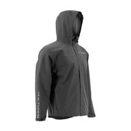 Huk Charcoal Grey Packable Rain Jacket