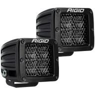 RIGID Industries D-Series Pro Spot Diffused Midnight Surface Mount - Pair