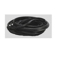 "Beckson 125' Black Vinyl Edge Trim ""Trim-Mate"""
