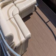 MariDeck Ultra FV Woven Vinyl Boat Flooring Installed 1