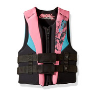 O'Neill Youth Reactor Turquoise Life Jacket