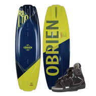 O'Brien Ratio Wakeboard w/ Clutch Boots 2019