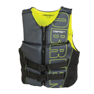 O'Brien Men's Yellow V-Back Life Jacket