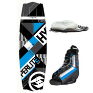 Hyperlite Tribute Wakeboard w/ Frequency Boots & Handle
