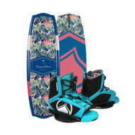 Liquid Force Angel 130 Wakeboard w/ Plush Bindings 4-7