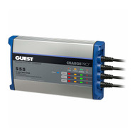 Guest On-Board Battery Charger - 15A - 3-Bank