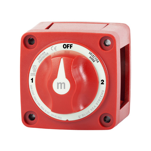 """Blue Sea """"M"""" Series Battery Switch - 3-Position"""