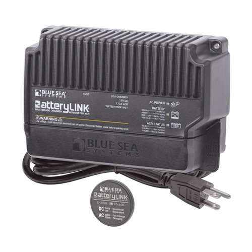 Blue Sea 20A Battery Link Charger