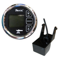 "Faria 2"" Dual Depth Sounder w\/Air  Water Temp Transom Mount Transducer - Chesapeake SS Black"