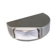Lumitec Surface Mount Navigation Light - Classic Aluminum - Starboard Green