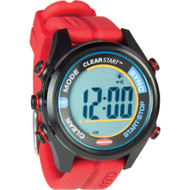 Ronstan ClearStart 40mm Sailing Watch- Red