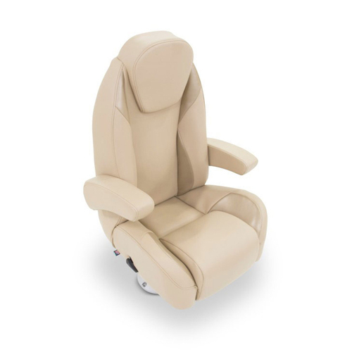 LCI Platinum Reclining Pontoon Helm Seat w/ Bolster